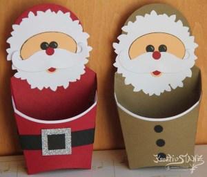 Knecht Rupprecht und Nikolaus aus Pommesbox