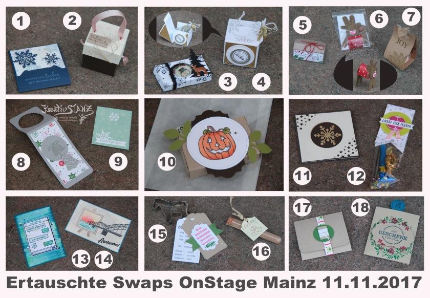 KreativStanz OnStage Stampin' Up! Mainz 2017 #stampinup #onstage2017 http://kreativstanz.bastelblogs.de/