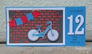 Kreativ-Stanz Stempelset Bike Ride von Stampin' Up! Fahrrad bicycle Geburtstag birthday #stampinup #bike http://kreativstanz.bastelblogs.de/