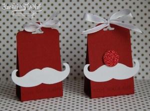 Kreativ-Stanz Stempelset Fröhliche Weihnachten und Anhängerstanze von Stampin' Up! Weihnachten Verpackung Weihnachtsmann #stampinup #christmas http://kreativstanz.bastelblogs.de/