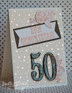 KreativStanz Designerpapier Frühlingsglanz und Stempelset Alle meine Geburtstagsgrüße von Stampin' Up! Hochzeit marriage #stampinup #wedding http://kreativstanz.bastelblogs.de/
