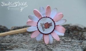 KreativStanz Stampin' Up! Schmetterlinge Blumen Nostalgie Antique #stampinup #technik http://kreativstanz.bastelblogs.de/