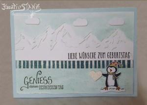KreativStanz SPinguin von Stampin' Up! Bergeprägefolder Renke #stampinup #renke http://kreativstanz.bastelblogs.de/