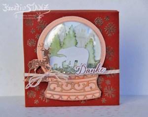 Kreativ-Stanz Stanzform Schneekugel von Stampin' Up! BlogHop Weihnachten Still Scenes Frostige Grüße #stampinup #kreativbloghop https://kreativstanz.wordpress.com